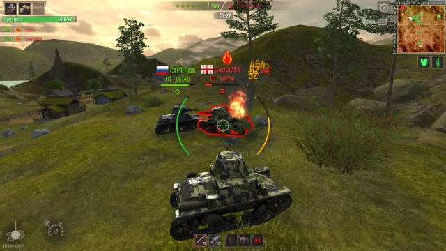 Battle Tanks: Legends of World War II – новая танковая аркада на PC, Android и iOS