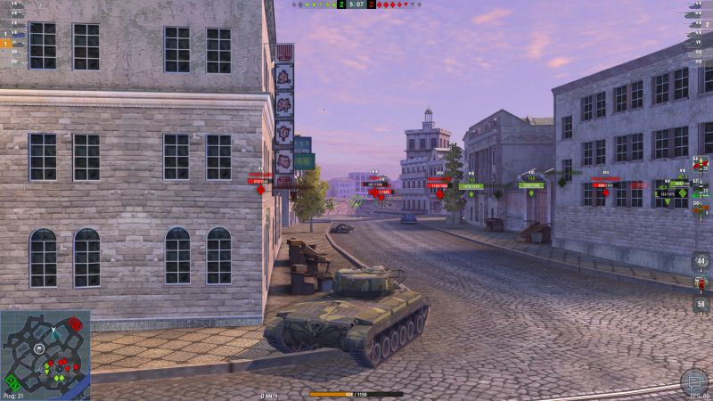 Атака с тыла в Жемчужном городе