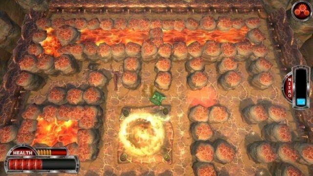 Tanks VS Demons – крутая танковая аркада на ПК в духе Pac-Man