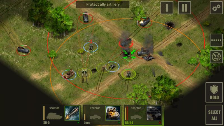 World of Armored Heroes: WW2 Tank Strategy Warfare