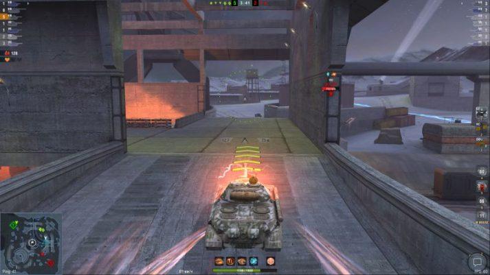 ИС-5 с Волчим ударом
