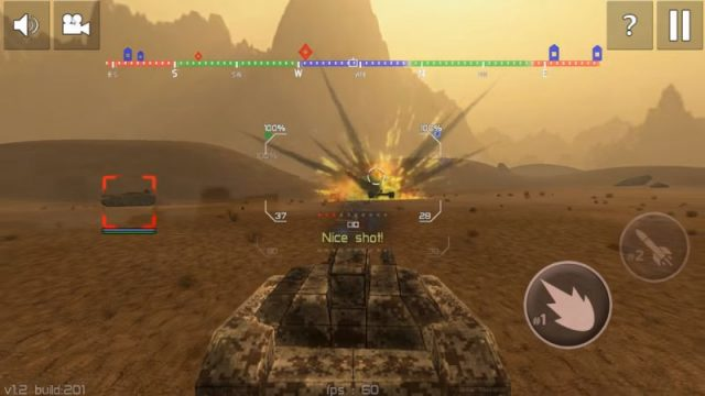 Tank Combat: Iron Forces Battlezone – Sci-Fi аркада о битвах футуристических танков на Андроид