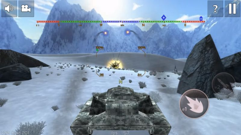 Tank Combat : Iron Forces Battlezone