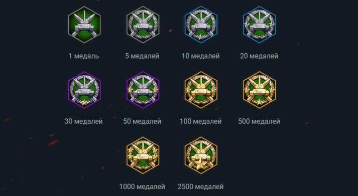 Аватары за медали
