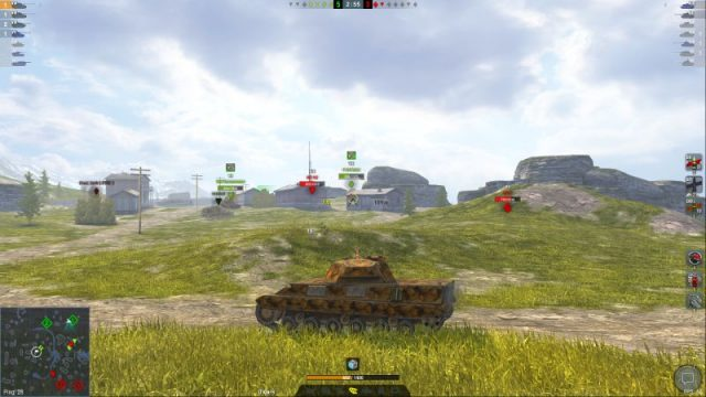 P.44 Pantera – убийца танков WOT Blitz с барабаном для рейтинга и фана в рандоме