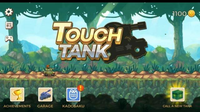 Touch Tanks – танковая аркада с видом сбоку и красочной графикой