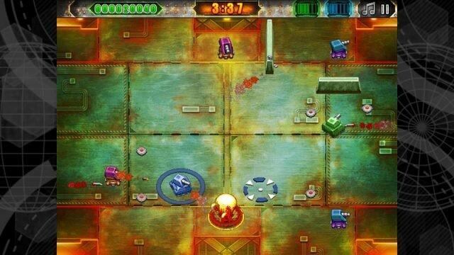 Battle Pixels – простая 2D аркада про танчики в 16-битном стиле