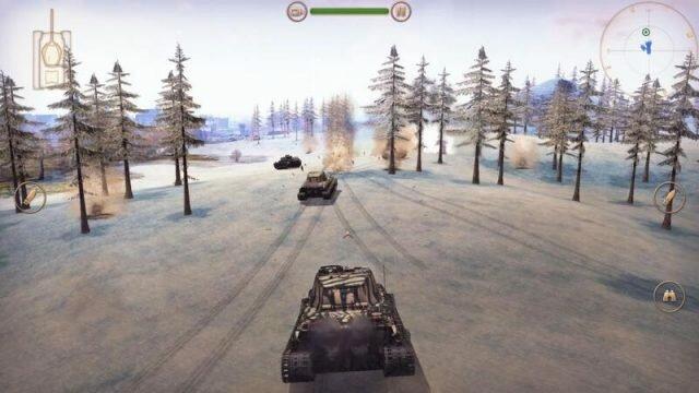 Battle Supremacy – мобильный танковый экшен с красивой графикой