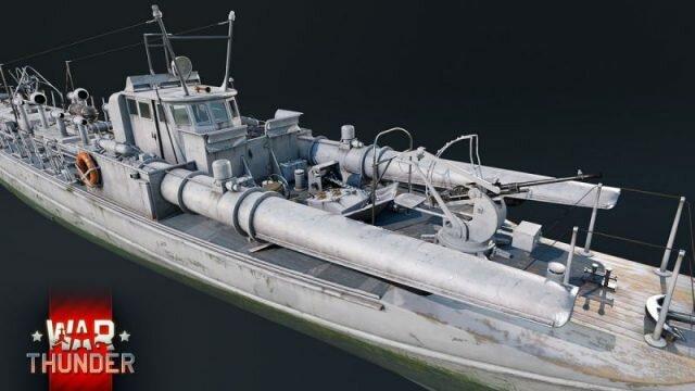 В War Thunder появится итальянский флот — разработчики показали боевой катер MS-15