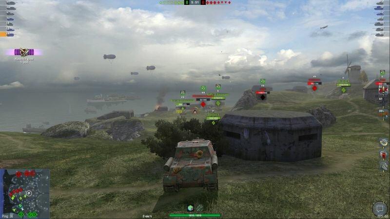 ИСУ-152 на выгодной позиции (Нормандия)