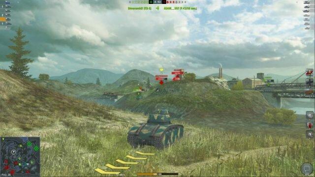 BDR G1 B – лучший тяжелый танк на 5 уровне в WOT Blitz: броня, урон и отличный фарм