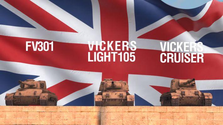 WoT Blitz - новые танки Великобритании